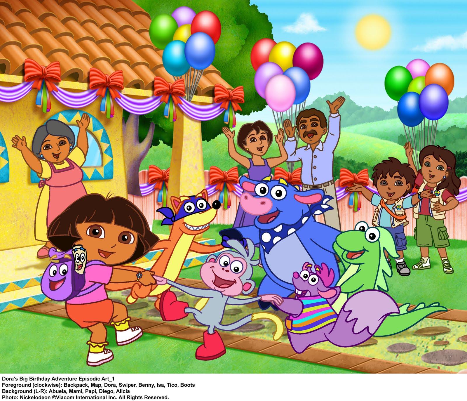 Dora The Explorer Decorations Ideas