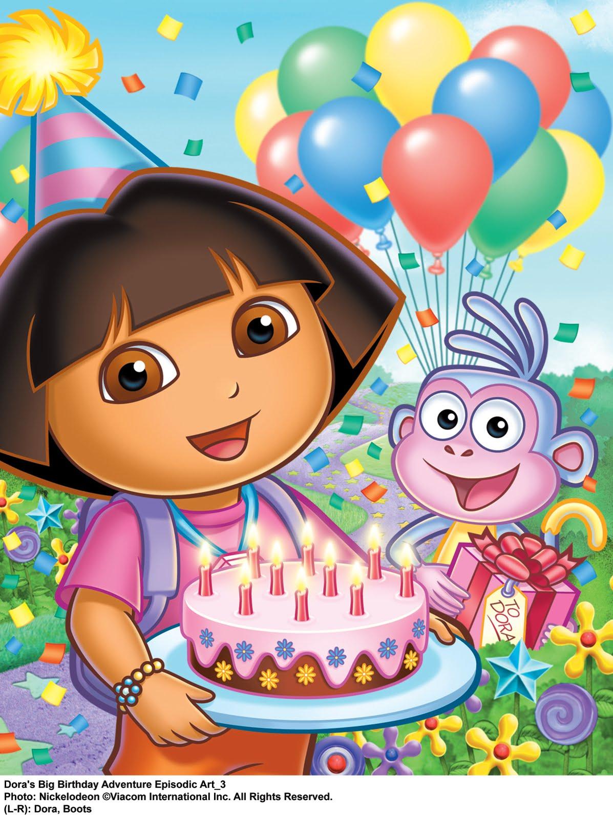 dora the explorer birthday